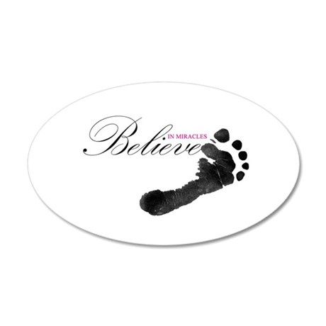 Believe in Miracles Wall Decal