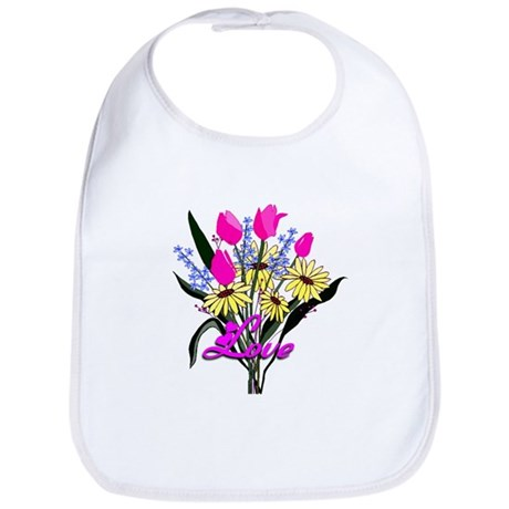 Love Bouquet Bib