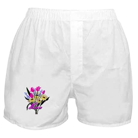 Love Bouquet Boxer Shorts