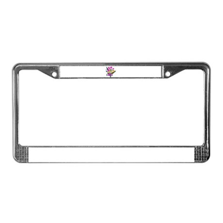 Love Bouquet License Plate Frame