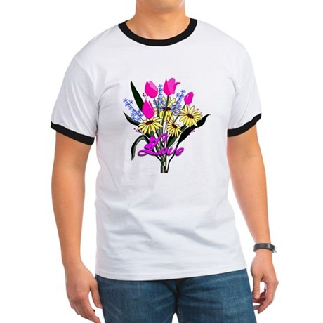 Love Bouquet Ringer T