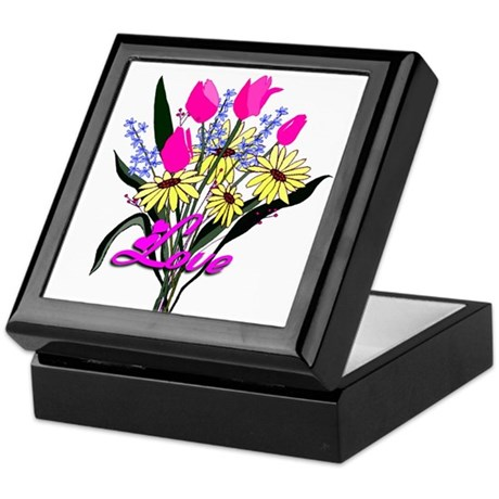 Love Bouquet Keepsake Box