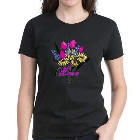 Love Bouquet Women's Dark T-Shirt