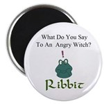 Angry Witch Magnet