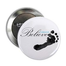 "Believe in Miracles 2.25"" Button (100 pack)"