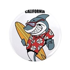 "Santa Barbara, California 3.5"" Button"