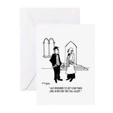 Punchlines in Church Greeting Cards (Pk of 20)