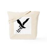 Masonic guardian eagle Tote Bag