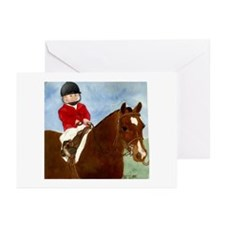 Welsh Pony Leadline Greeting Cards