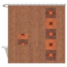 Cinnamon Shower Curtains Cinnamon Fabric Shower Curtain Liner