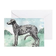 Scottish Deerhound Greeting Cards