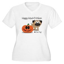 Happy Howl-O-Ween Plus Size T-Shirt
