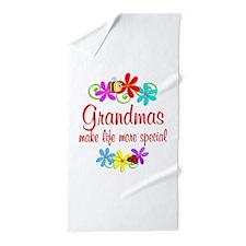 Special Grandma Beach Towel