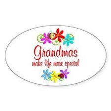 Special Grandma Decal