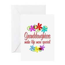 Special Granddaughter Greeting Card