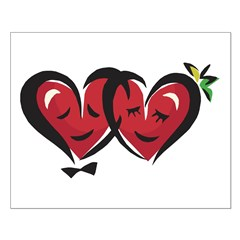 Two Loving Hearts Posters