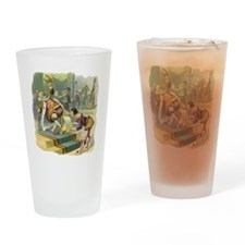 Vintage Old King Cole Drinking Glass