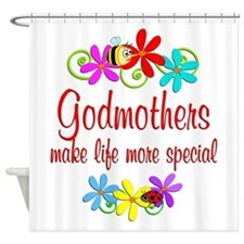 Special Godmother Shower Curtain