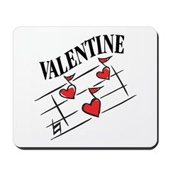 Valentine Love Notes Mousepad