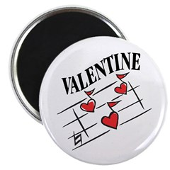 "Valentine Love Notes 2.25"" Magnet (10 pack)"