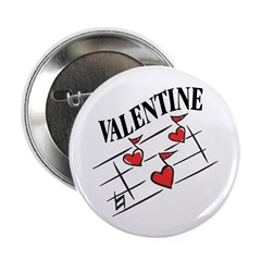 Valentine Love Notes Button