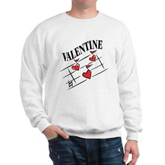 Valentine Love Notes Sweatshirt