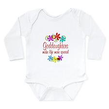Special Goddaughter Long Sleeve Infant Bodysuit