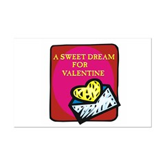 Valentine Sweet Dream Mini Poster Print