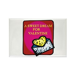Valentine Sweet Dream Rectangle Magnet