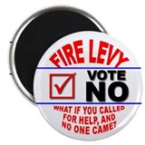 Fire Levy Vote No Magnet