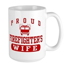 Proud Firefighter's Wife Mug