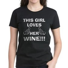 This Girl loves her Wine T-Shirt
