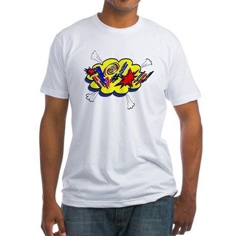 Expletive! Fitted T-Shirt