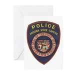 Arizona Capitol PD Greeting Cards (Pk of 10)