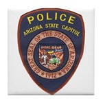 Arizona Capitol PD Tile Coaster