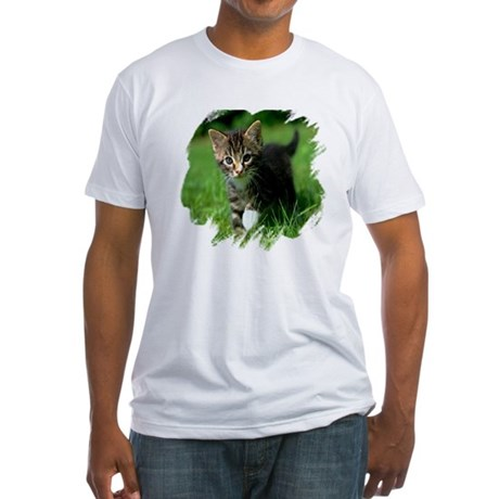 Baby Kitten Fitted T-Shirt