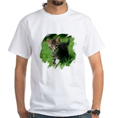 Baby Kitten White T-Shirt