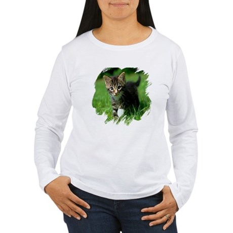 Baby Kitten Women's Long Sleeve T-Shirt
