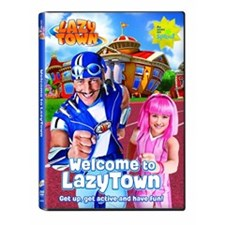 LazyTown - Welcome to LazyTown DVD
