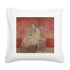 Cute Lyres Square Canvas Pillow