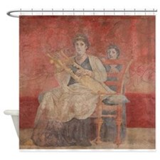 Cute Lyres Shower Curtain