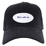 She's With Me Black Cap