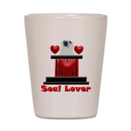 Slash-A-Seal Seal Lover Shot Glass