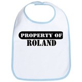 Property of Roland Bib
