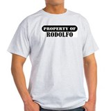 Property of Rodolfo Ash Grey T-Shirt