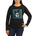Papillion Women's Long Sleeve Dark T-Shirt