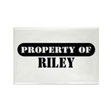 Property of Riley Rectangle Magnet (10 pack)