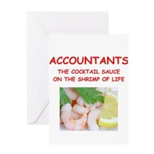 ACCOUNTANTS Greeting Cards