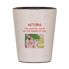 actor Shot Glass