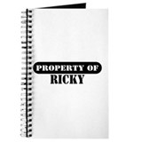 Property of Ricky Journal